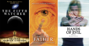Melissa's 3 Book Giveaway