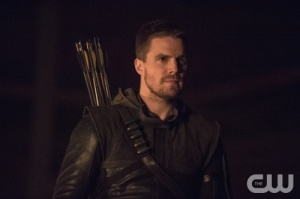 "Arrow -- ""The Climb"" -- Image AR309a_0397b -- Pictured: Stephen Amell as Oliver Queen -- Photo: Cate Cameron/The CW -- © 2014 The CW Network, LLC. All Rights Reserved."