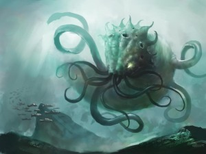Kraken by MaBuArt Digital Art / Drawings & Paintings / Fantasy©2010-2015 MaBuArt