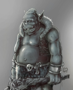 Ogre by JuanCharles Digital Art / Drawings & Paintings / Fantasy©2012-2015 JuanCharles