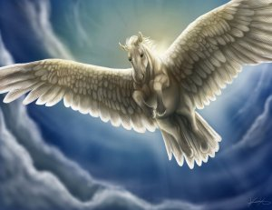 Pegasus by GoldenPhoenix100 Digital Art / Drawings & Paintings / Fantasy©2012-2015 GoldenPhoenix100