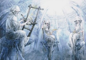 The Fates by Toradh Traditional Art / Paintings / Fantasy©2013-2015 Toradh