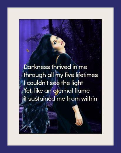 darkness thrived