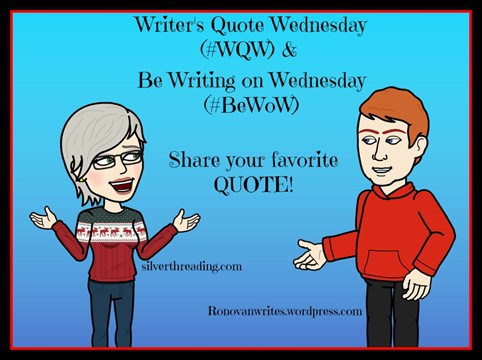 Writer's Quote Wednesday